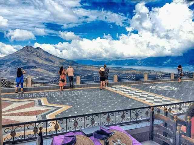 kintamani Batur Volcano Lake sunsky bali tour
